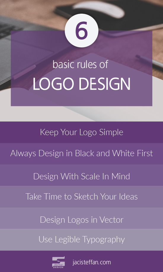 6 Basic Rules of Logo Design