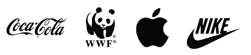 Design Logos in Black and White First