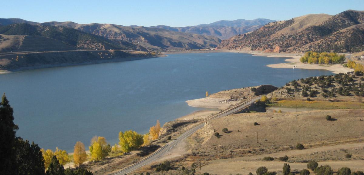 Echo Reservoir near Coalville UT