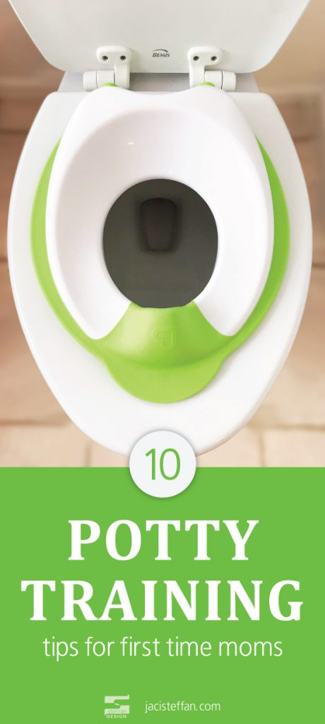 10 tips for potty training boys at an age.